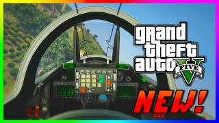"GTA 5 EPIC ""First Person"" Flying Laser P-996 Jet - GTA V PS4 Gameplay First Person Flying! (GTA V)"
