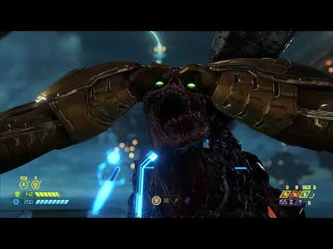 Doom Eternal After you finished Ancient Gods Part 1 DLC on Ultra Nightmare. |