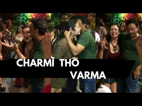 RGV Kissing Charmi  I RGV Dance In Pub  I Charmi Dance With RGV And Puri
