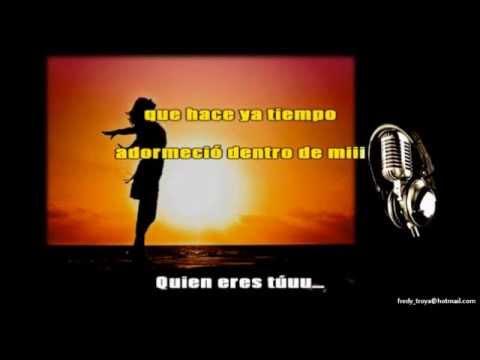 QUIÉN ERES TÚ & Nelson Ned (Karaoke  - 1)