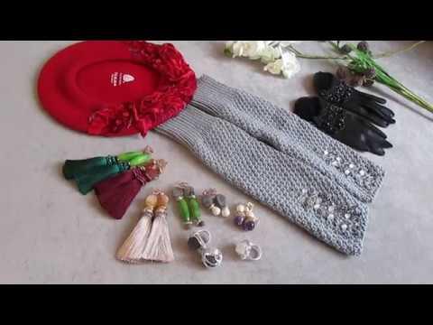 Черные и белые шелковые перчатки / Обзор - YouTube