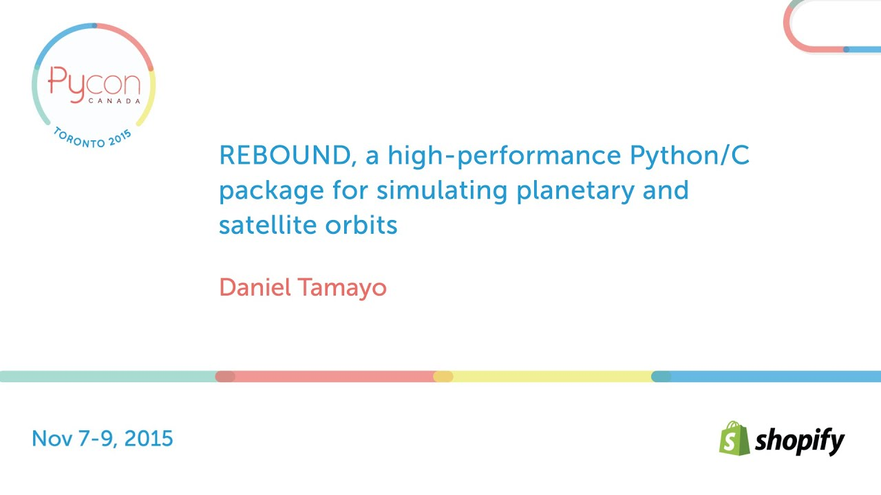 Image from REBOUND, a high-perf Python/C package for simulating planetary & satellite orbits