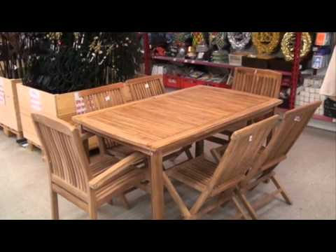 teakm bel f r terasse und garten youtube. Black Bedroom Furniture Sets. Home Design Ideas