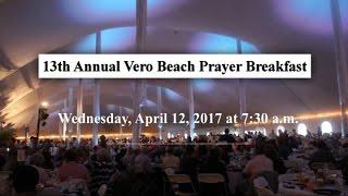 13th Annual Vero Beach Prayer Breakfast