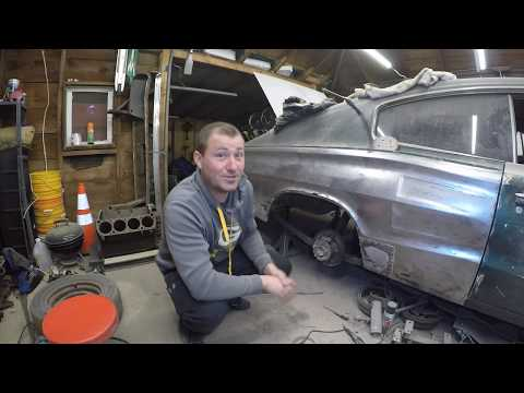 1966 Dodge Charger Resto Mod Build!! EP 2 Look What I Found...