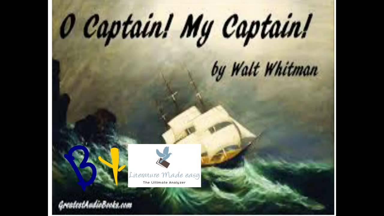 o captain my captain poem summary