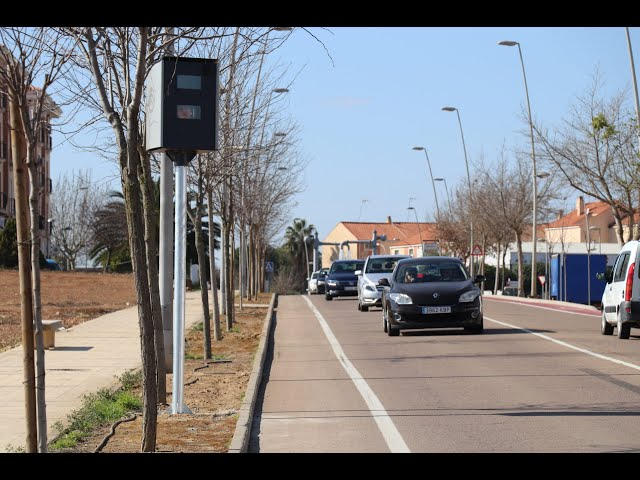 En marzo entrarán en funcionamiento el radar ubicado en la avenida Puerta de la Serena.