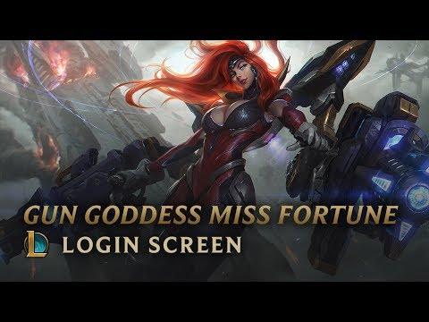 Gun Goddess Miss Fortune   Login Screen - League of Legends