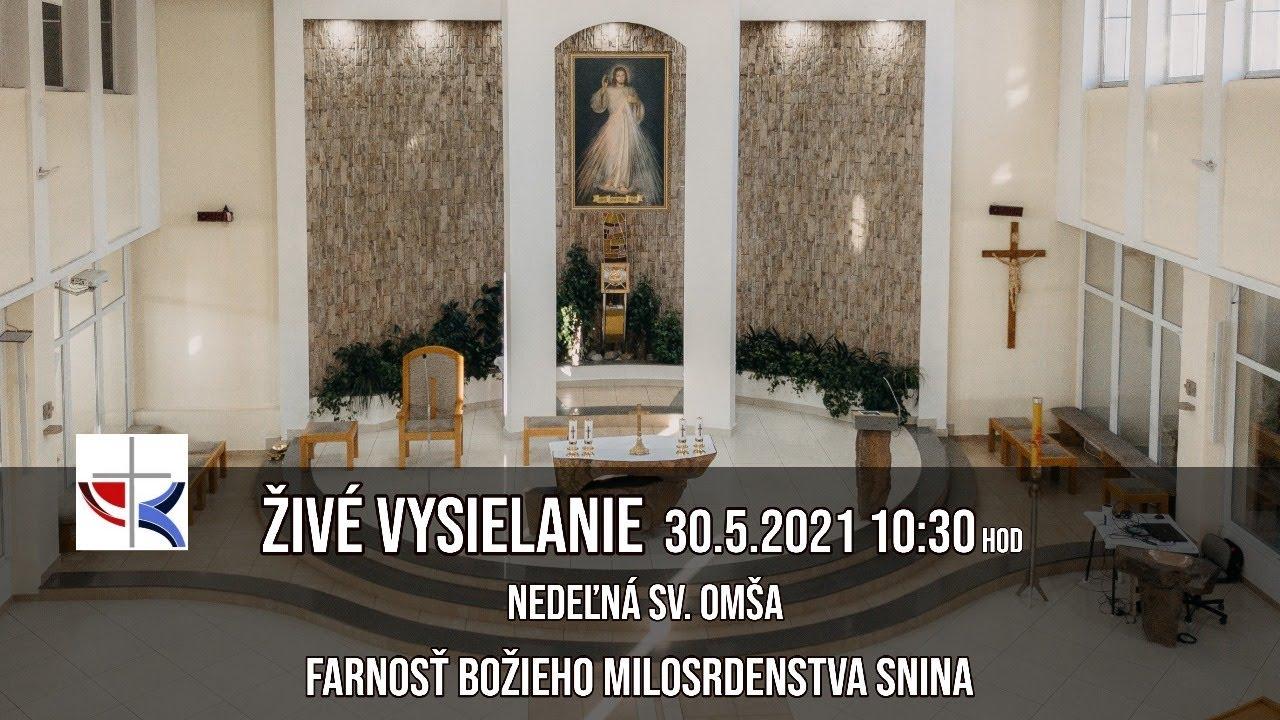 Download Živé vysielanie - 30.5.2021 - Nedeľná sv. omša - 10:30hod - FBM Snina