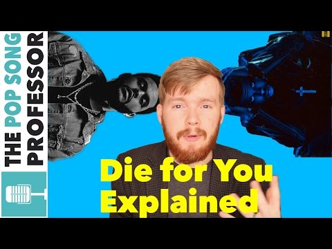 The Weeknd - Die for You   Song Lyrics Meaning Explanation Poster