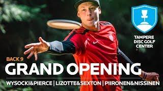 Tampere Disc Golf Center GRAND OPENING, Back 9