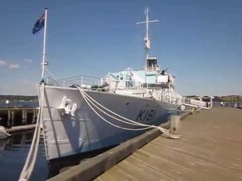 corvette ship wwii