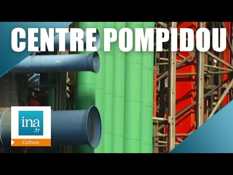 Dans les tuyaux de Beaubourg, les coulisses du Centre Pompidou | Archive INA