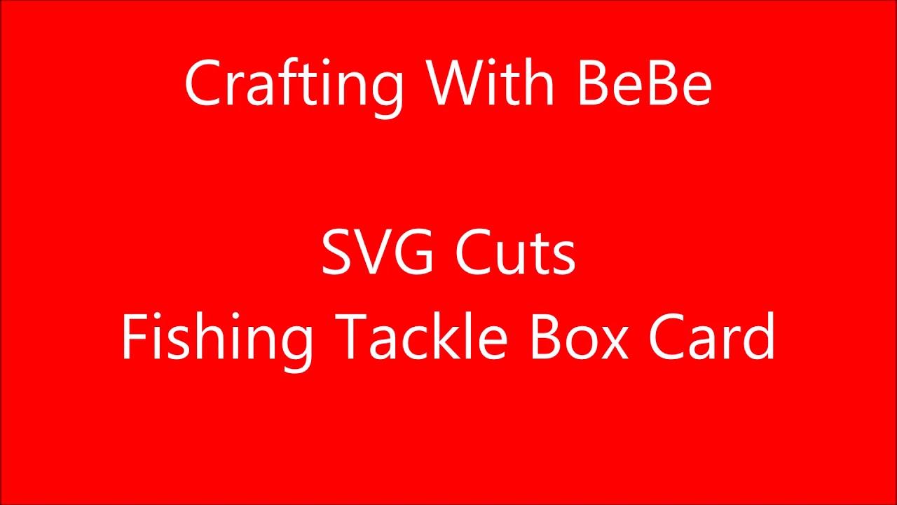 Download Svg Fishing Tackle Box Youtube