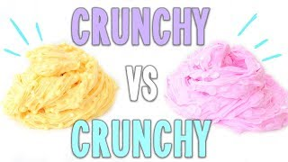 CRUNCHY vs CRUNCHY!! CUÁL ES MEJOR?