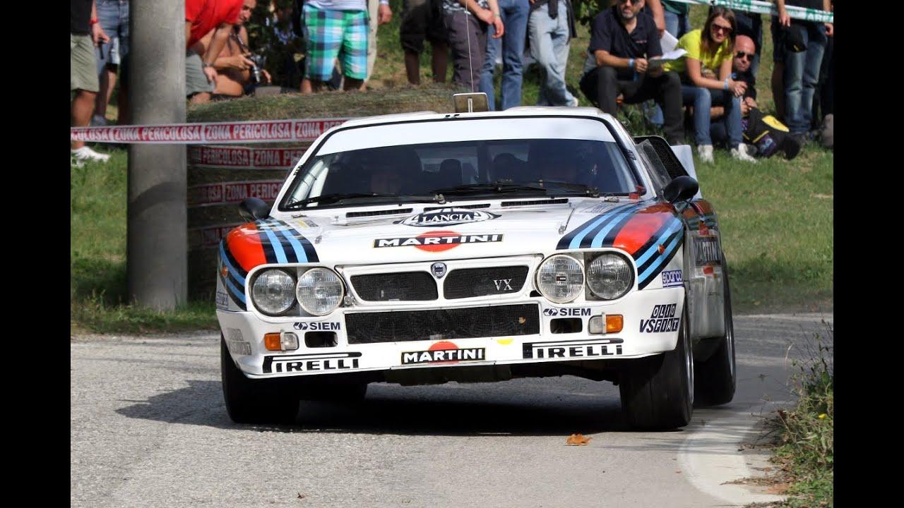 Rally Legend 2014 8x Lancia Rally 037 Youtube