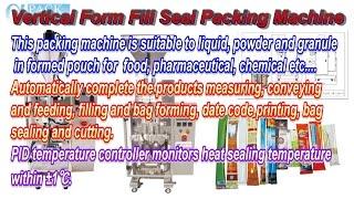 Milk Powder Multi-Lane Sachet Form Packing Machine MLP-08-480 with Auger Filler