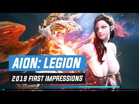 Aion: Legions Of War 2019 First Impressions - Not The Mobile Port Aion Needed