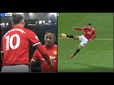 Zlatan Ibrahimovic Back After 7 Months ALMOST SCORES 2017/18 - HD