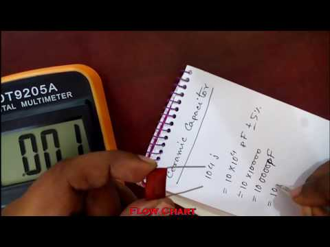 How To Determine The Value Of Ceramic Capacitor Youtube