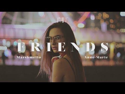 Marshmello & Anne Marie - FRIENDS 한국어 가사/해석 lyrics  [POP Curator]