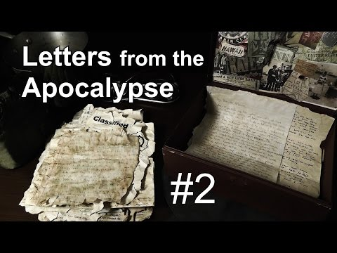 Letters from the Apocalypse - Part 2 [ ASMR Viewer-Driven Fan-fiction ]