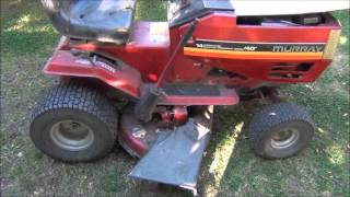 Мы купили старую газонокосилку-трактор.(, 2012-10-25T04:35:52.000Z)