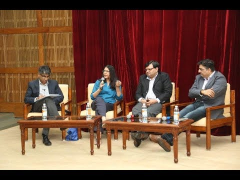 A session on Innovation in the FMCG sector organized by IIMB Alumni office
