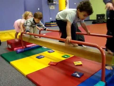 Toddler Gymnastics At The Little Gym Of Friendswood Youtube
