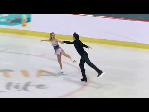 Alexa SCIMECA KNIERIM / Chris KNIERIM -  GOLDEN SPIN 2018  PAIRS - Free Skating - December 7, 2018