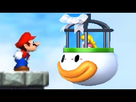 New Super Mario Bros. 2 - All Castles