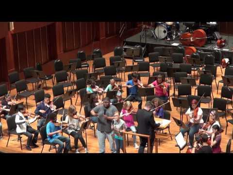 Indy's MYO orchestra B My Shot (from Hamilton) april 2017