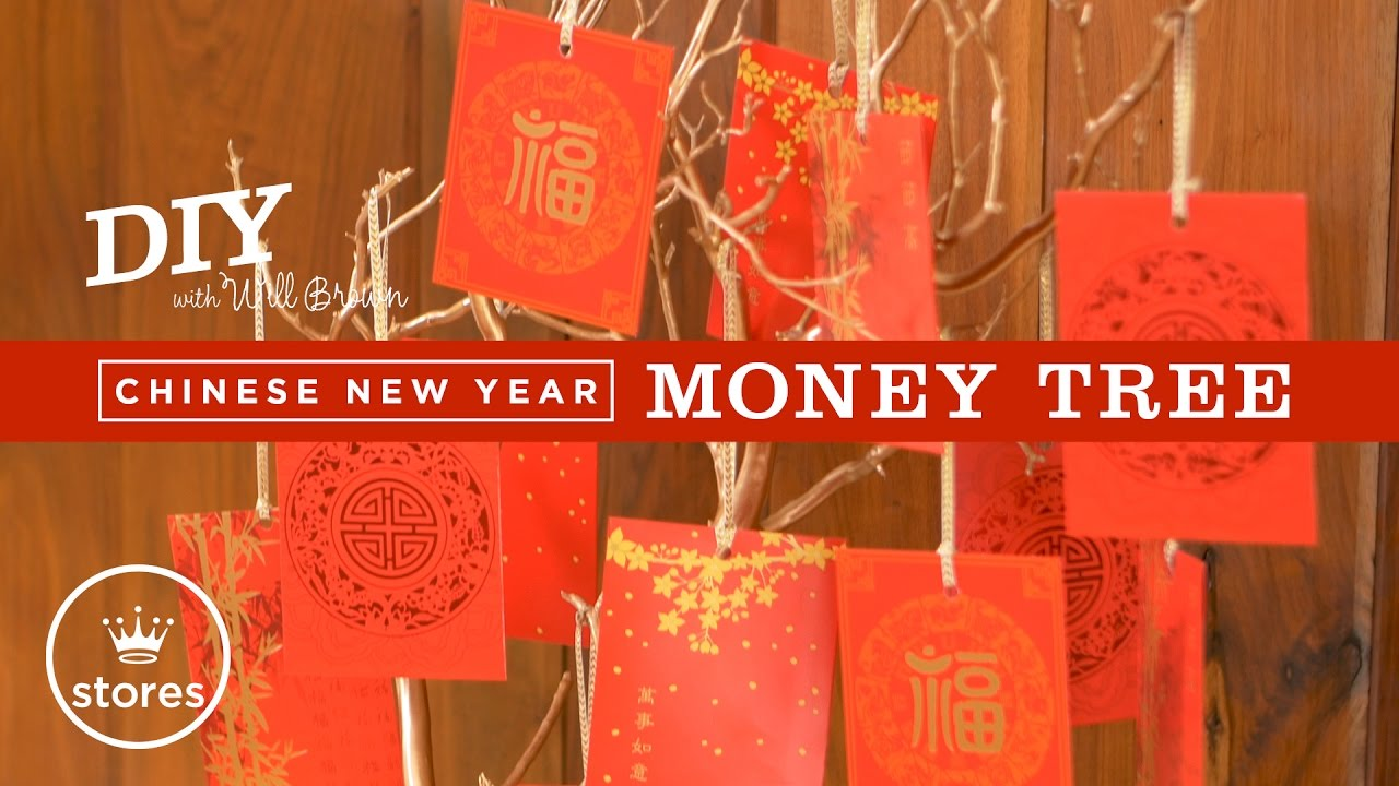 Chinese New Year Money Tree | DIY with Will Brown - YouTube