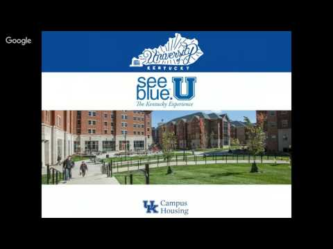 """See your housing at """"see blue."""" U Orientation"""