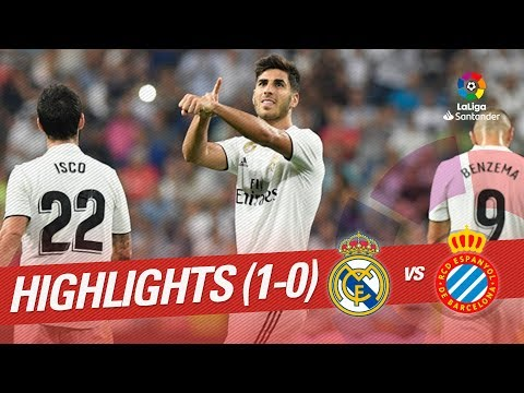 Resumen de Real Madrid vs RCD Espanyol (1-0)