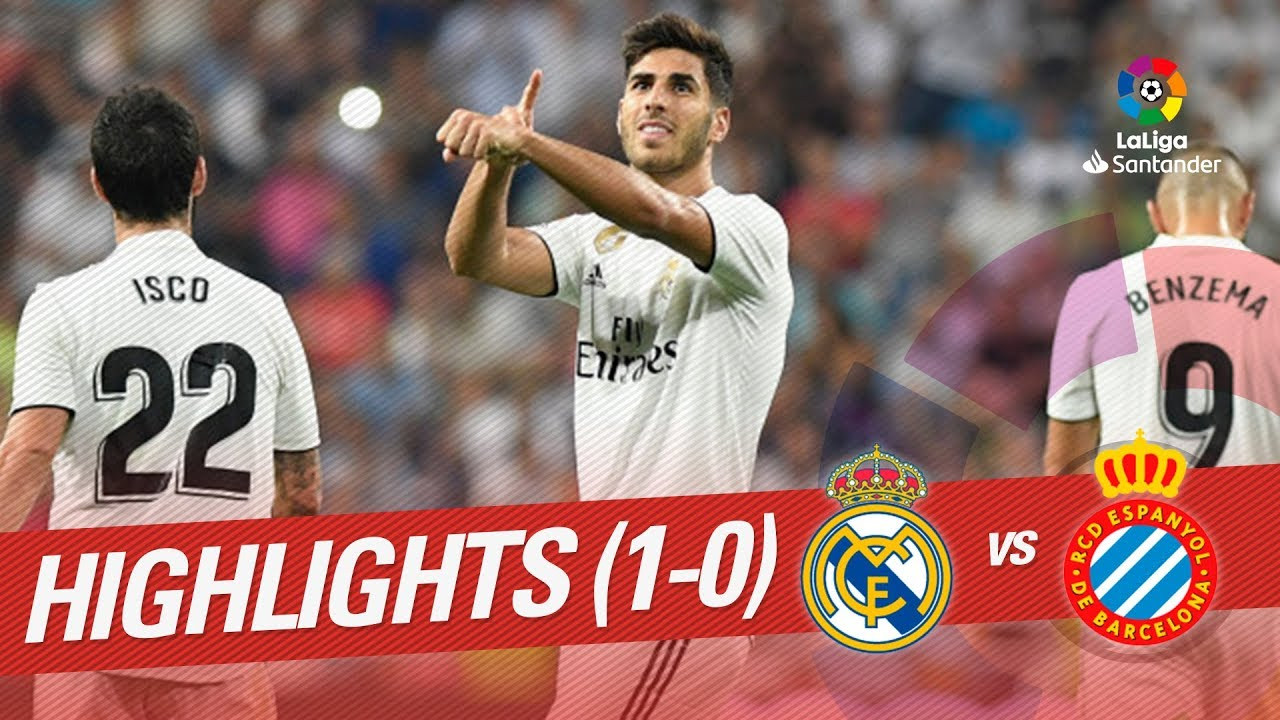 Resumen De Real Madrid Vs Rcd Espanyol 1 0 Youtube