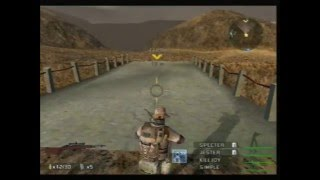 Socom 3 Mission 2 Operation Escalation