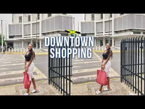 COME CLOTHING SHOPPING DOWNTOWN, KINGSTON, JAMAICA (2019) Vendors, Wholesale | Annesha Adams