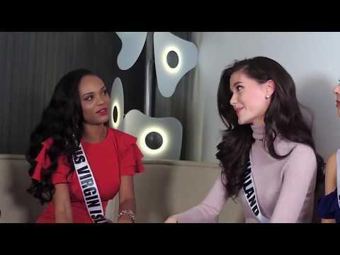Miss Universe 2017 LIVE#Miss Thailand, Japan, Sri Lanka and US Virgin Islands