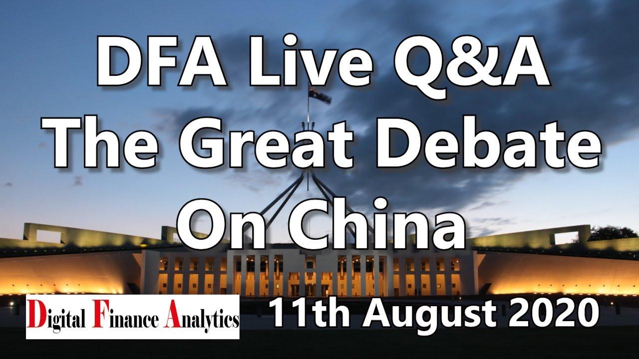 DFA Live The Great Debate On China [20:00 Sydney]