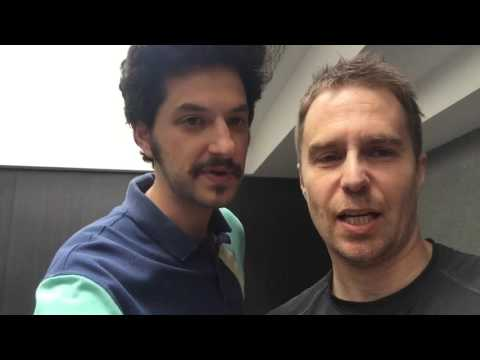 Sam Rockwell and Ben Schwartz Audition for the London Company of Hamilton