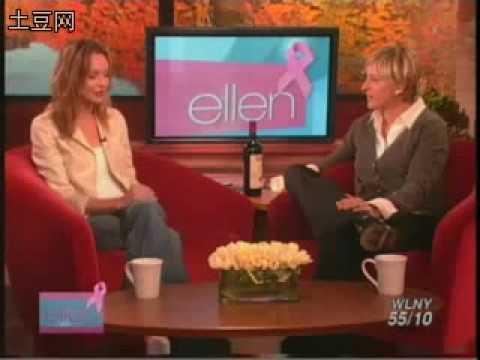 Calista Flockhart on Ellen