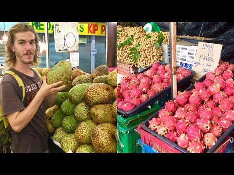 Amazing Fruit Market Tour in Malaysia
