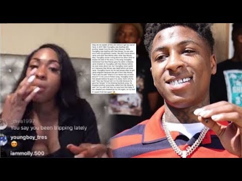 NBA YOUNGBOY SISTER RESPONDS TO VIRAL STORY OF HER HAVING AN STD