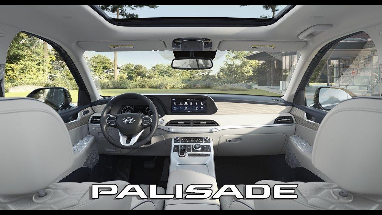 2020 Hyundai Palisade Interior Youtube
