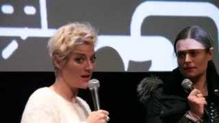 "Lucy Walker and Marianna Palka Q&A ""The Lions Mouth Opens"" at DOC NYC 2014"