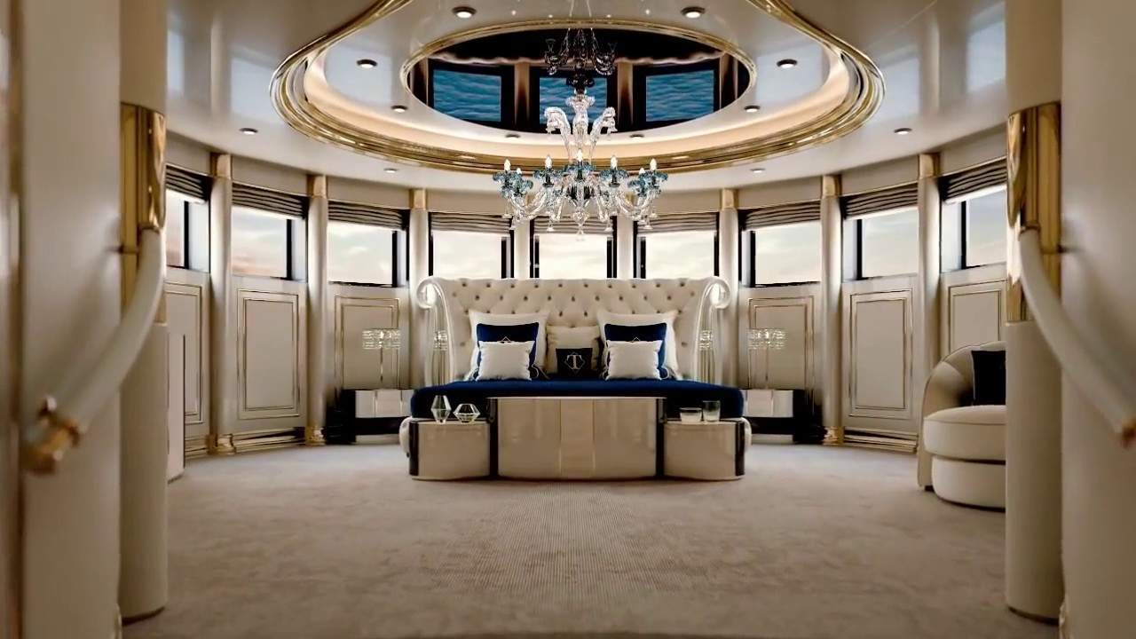 Turri Yacht Project Luxury Interior Design Furniture Youtube