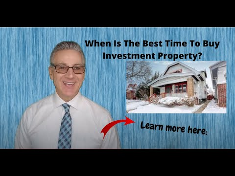 Its a good time to buy investment property