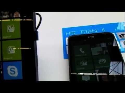 ГаджеТы: краткий обзор HTC Titan II на стенде Microsoft TechEd 2012
