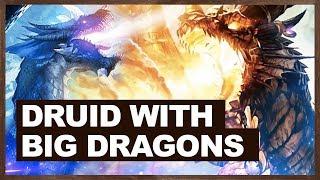 Druid With Big Dragons | Malygos Druid 2018 | The Witchwood | Hearthstone